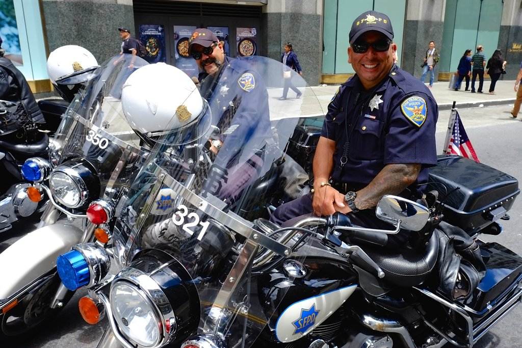 SFPD Motorcycle Unit